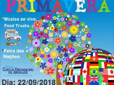FESTA DA PRIMAVERA E FEIRA DAS NAÇÕES